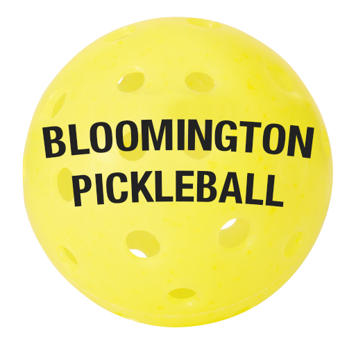 Bloomington Pickleball - Logo